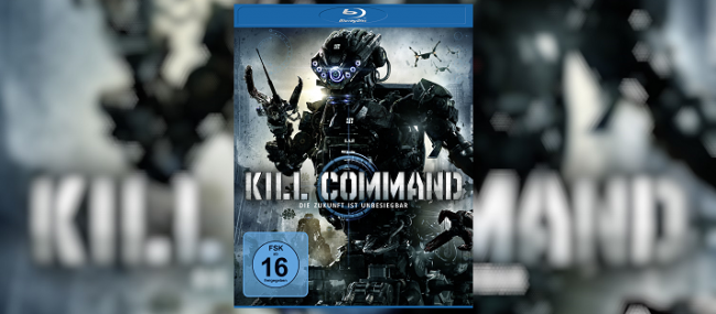 Blu-Ray Cover von Kill Command