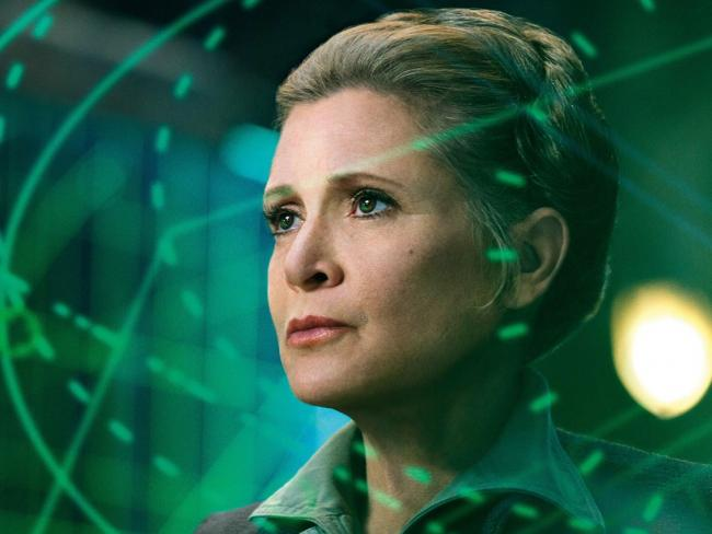 Carrie Fisher als Prinzessin Leia in Star Wars: Episode IV