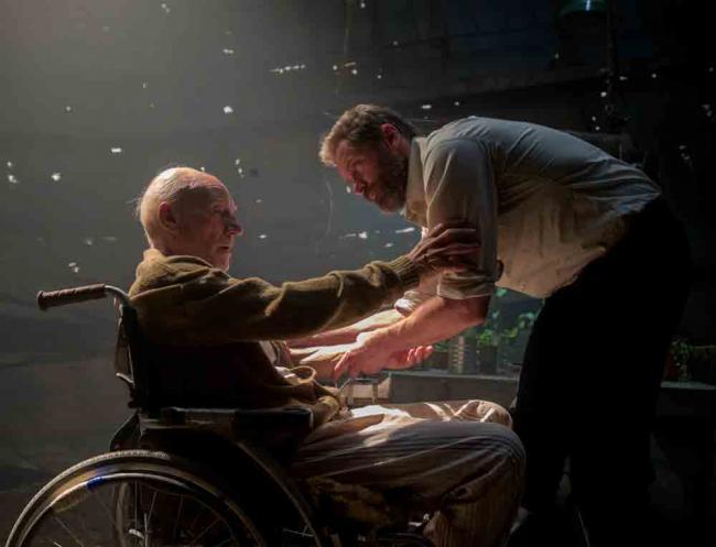 Charles Xavier (Patrick Stewart) und Logan (Hugh Jackman)