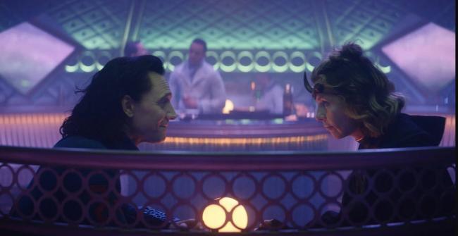 Loki und Slyvie in Lamentis