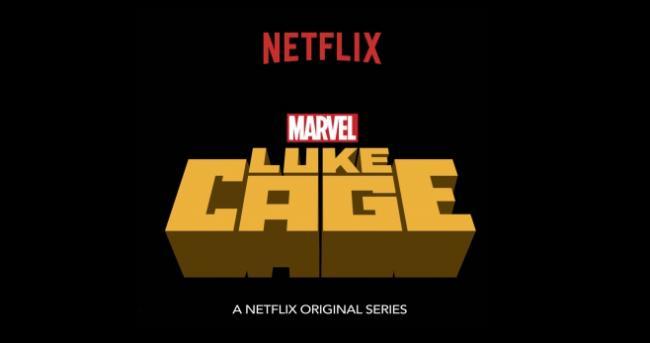 Schriftlogo der Marvel-Serie Luke Cage auf Netflix