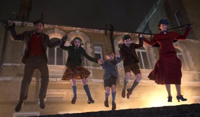 Der Hauptcast von der Fortsetzung des Disney-Klassikers Mary Poppins