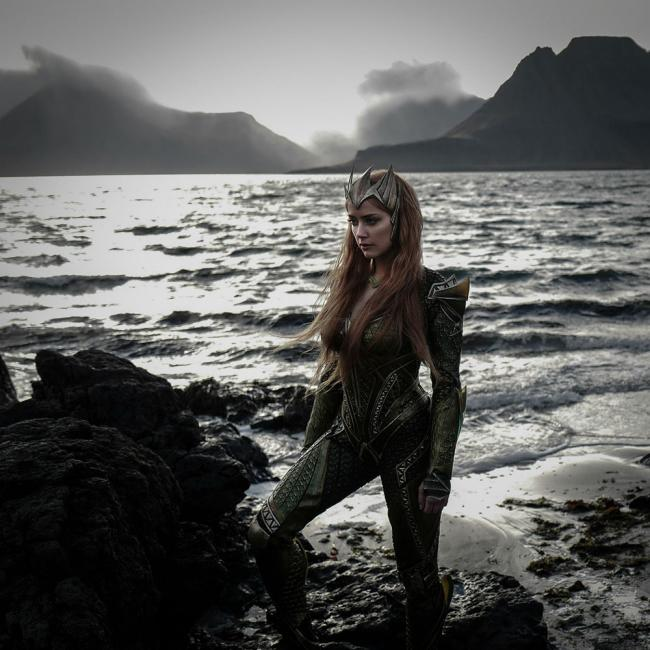Amber Heard als Mera Aquaman Justice League