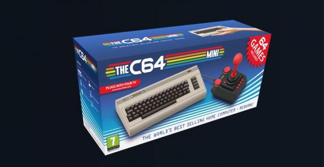 THEC64 Mini - Koch Media kündigen eine Mini C64-Version an