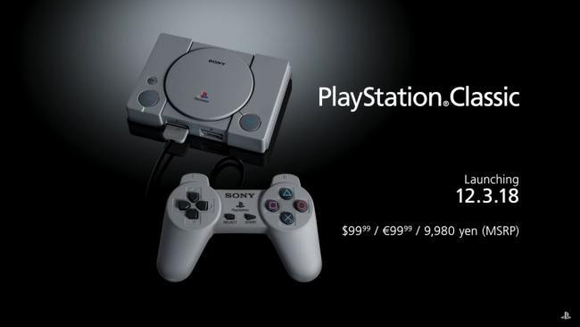 PlayStation Classic Trailer Still