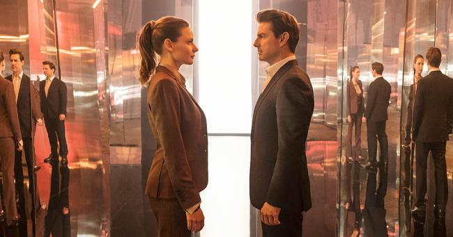 Mission Impossible Rebecca Ferguson und Tom Cruise