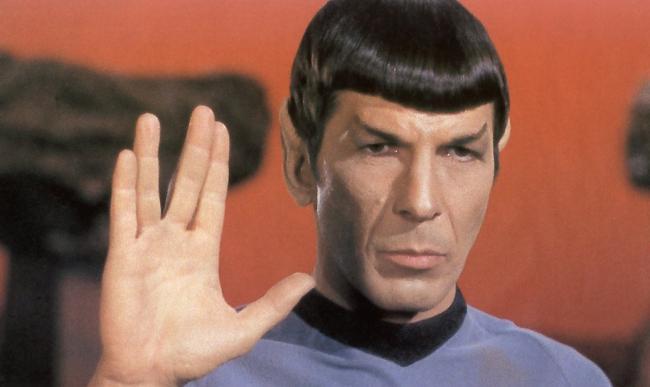 Leonard Nimoy als Spock