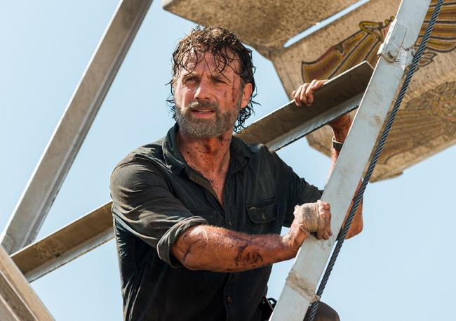 Szenenfoto The Walking Dead 7.12: Say Yes