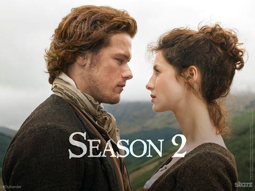 Promobild Outlander Jamie und Claire