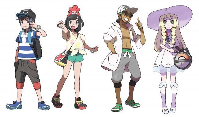 Pokémon Sonne Artwork