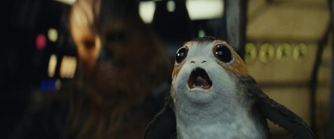 Star Wars: Die letzten Jedi – Chewbacca Porg