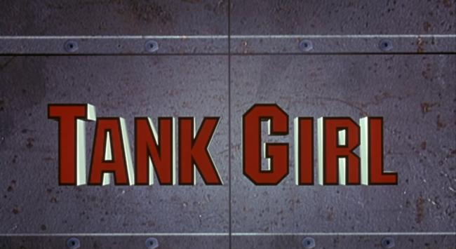 Tank Girl Movie Logo Trailer Still
