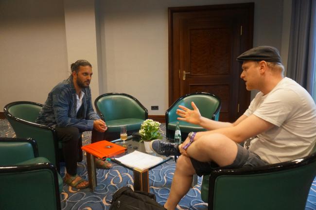Shazad Latif Interview