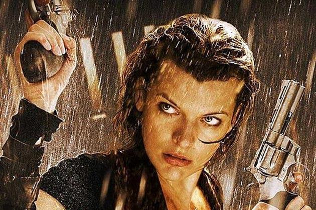 Alice steht im Regen