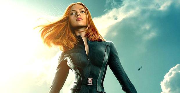 Scarlett Johannson als Black Widow