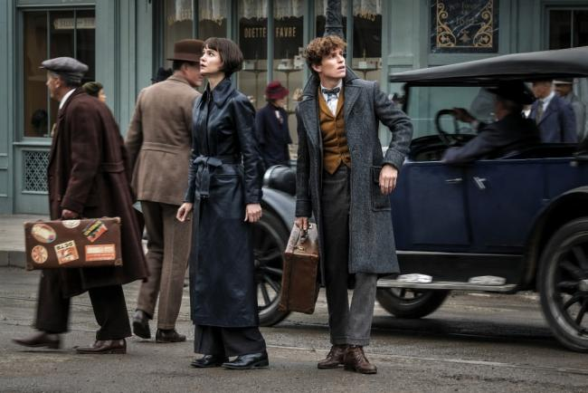 Fantastic Beasts: Grindelwalds Crimes Set Still