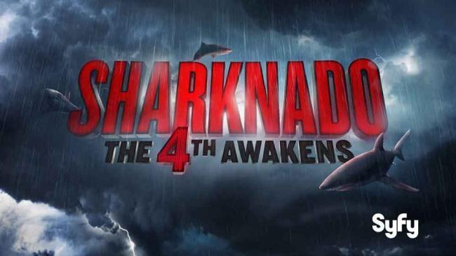 Sharknado: The 4th Awakens Keyart