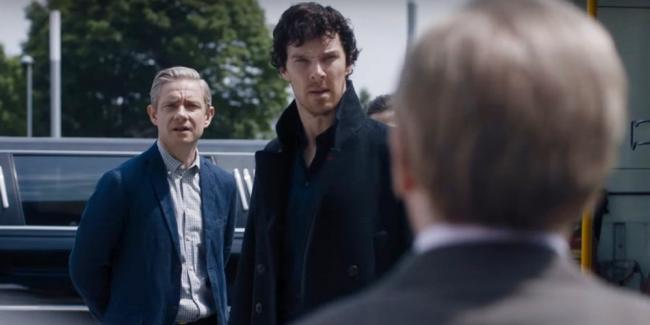 Sherlock Der lügende Detektiv Szenenbild