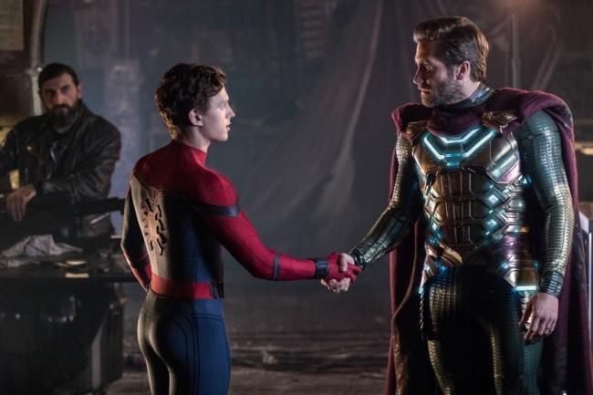 Spider-Man: Far From Home Scene Still
