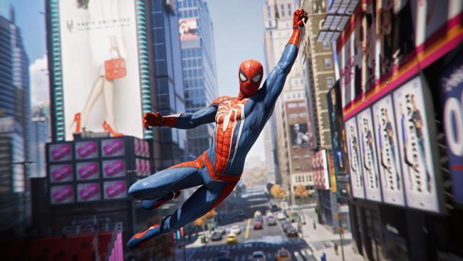 Spider-Man Headerbild