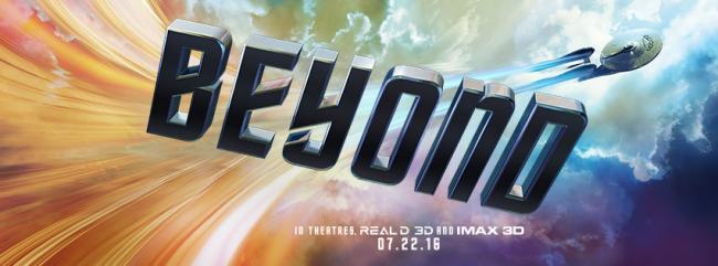 Star Trek Beyond Logo-Banner