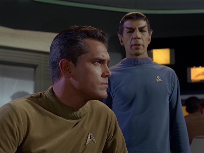 "Szenenbild aus Star Trek ""Der Käfig"" (1965)"