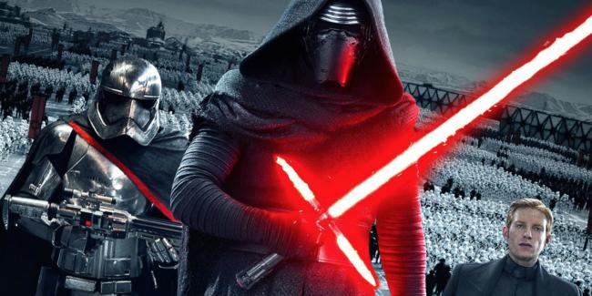 Kylo Ren, Captain Phasma und General Hux