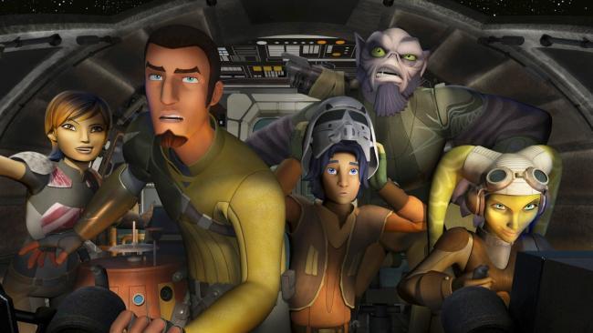 Alle Charaktere aus Star Wars Rebels