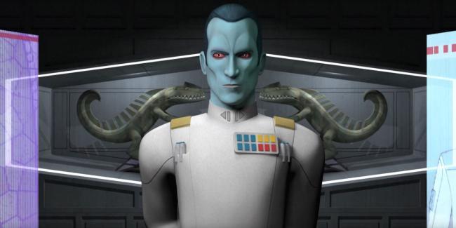 Großadmiral Thrawn in Star Wars Rebels