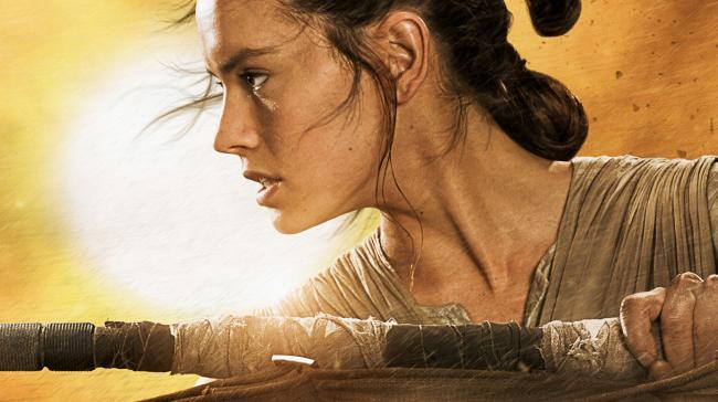 Star Wars: Das Erwachen der Macht Rey Poster