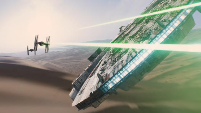 Star Wars, Star Wars: The Force Awakens, Theme Park