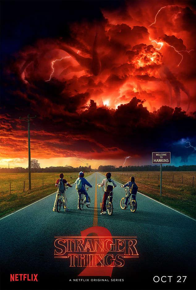 Poster Staffel 2 Stranger Things