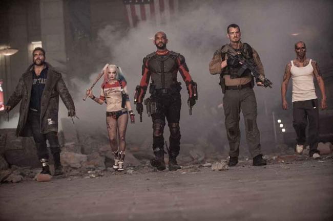 Die Mitglieder des Suicide Squad