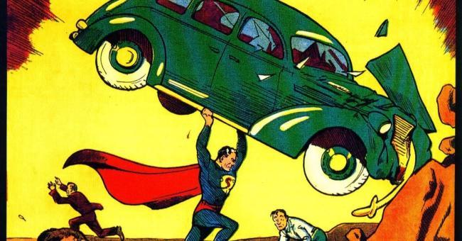 Cartoon Superman Clark Kent Cosplay Schuhe Stiefel
