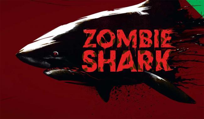 Zombie Shark Poster
