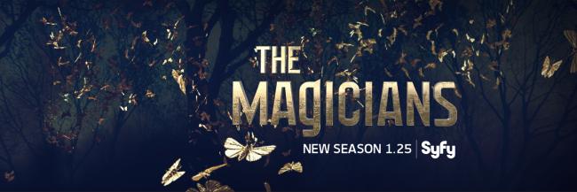 Schriftlogo der Syfy-Serie The Magicians