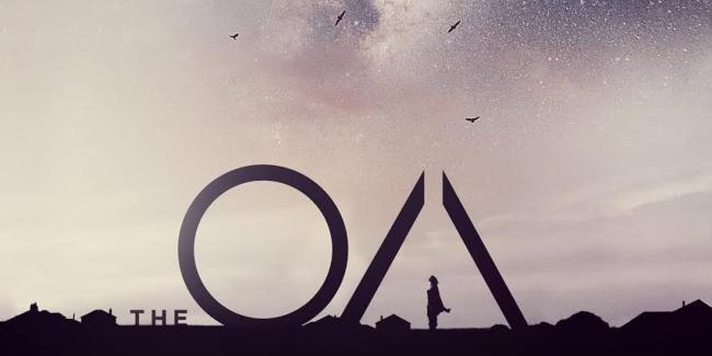 Promobild mit Titellogo für Netflix' Mysteryserie The OA