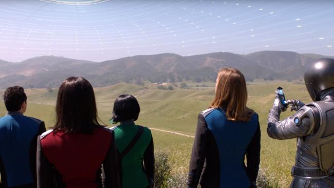 Die Crew der Orville - Szenenbild aus Episode 1.04