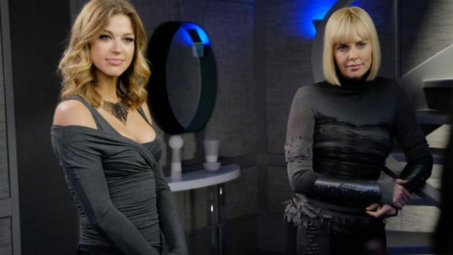 Charlize Theron als Pria in The Orville 1.05