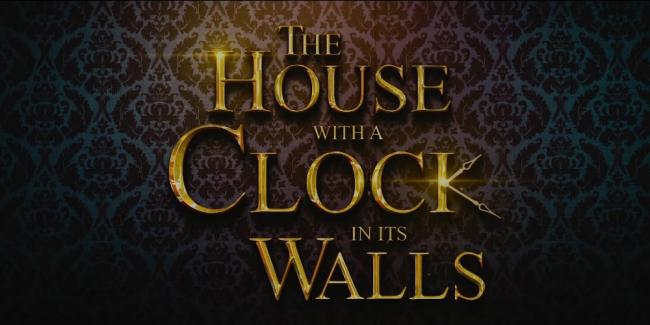The House with a Clock in its Walls Trailer Still Logo