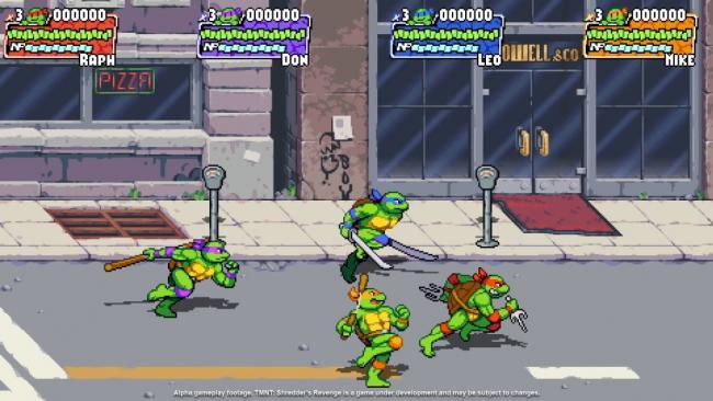 Teenage Mutant Ninja Turtles: Shredder's Revenge Trailer Still