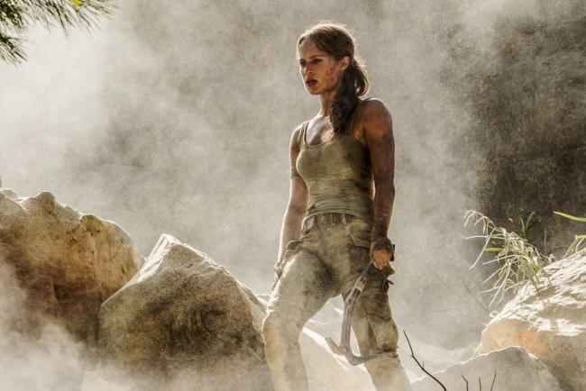 Alicia Vikander Tomb Raider