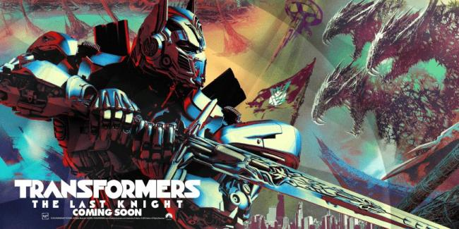 Transformers Last Knight Poster