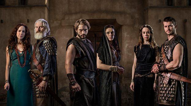 Castbild zu Troy - Fall of a City Coproduktion von Netflix und BBC