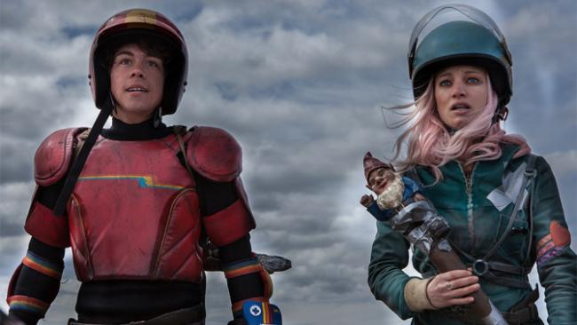 Turbo Kid und seine hyperaktive Freundin Apple