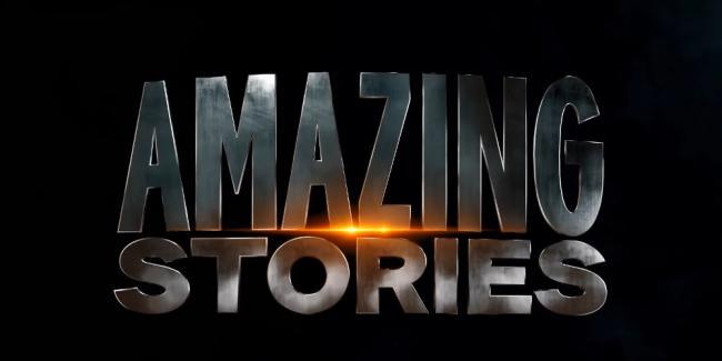 Amazing Stories Reboot Logo