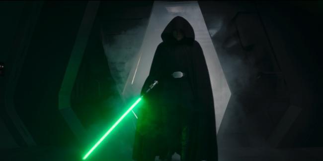 the Mandalorian Luke