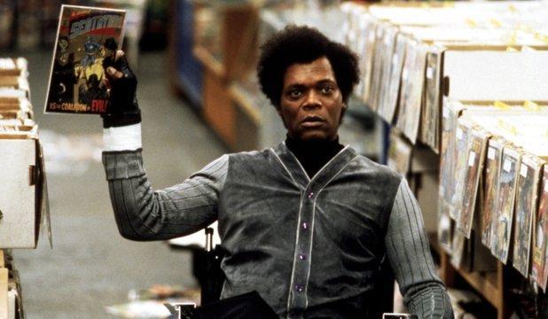 Samuel L. Jackson in Unbreakable