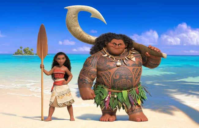 Szenenbild aus Disney's Viana: Moana & Maui