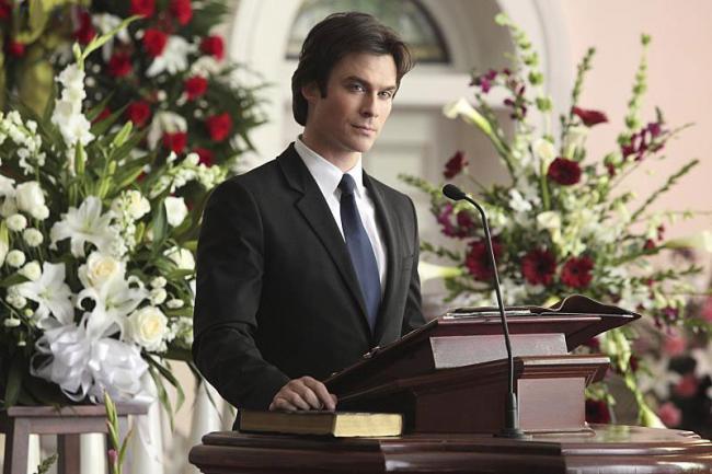 """Ian Somerhalder als Damon Salvatore in der CW-Serie """"Vampire Diaries"""""""
